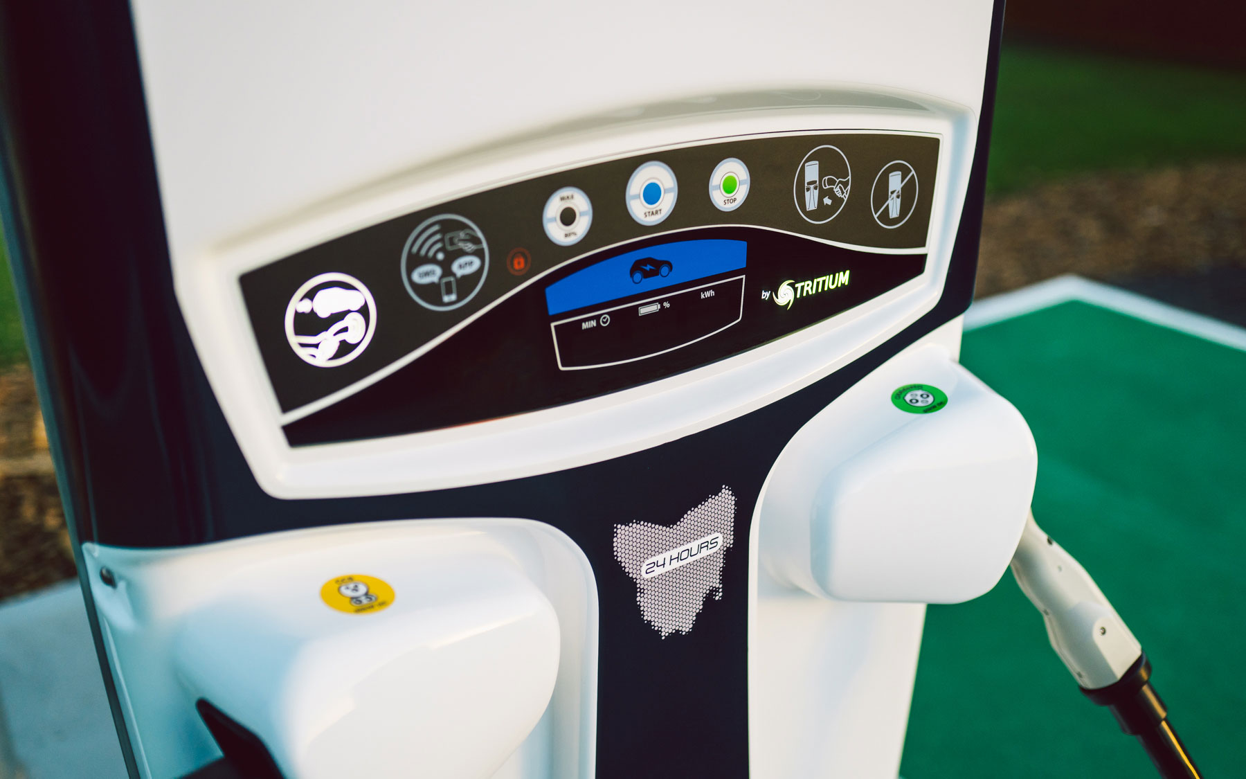 Australia's Southern-Most EV Fast Charger