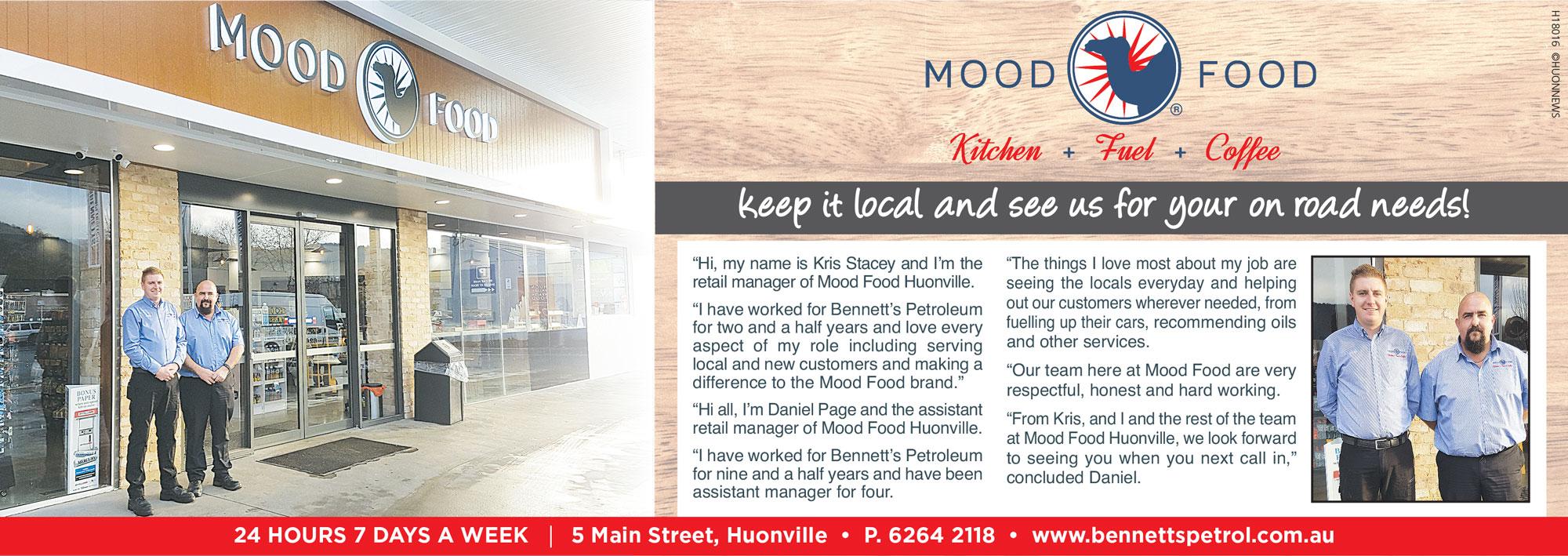 Men in Business – Mood Food Huonville
